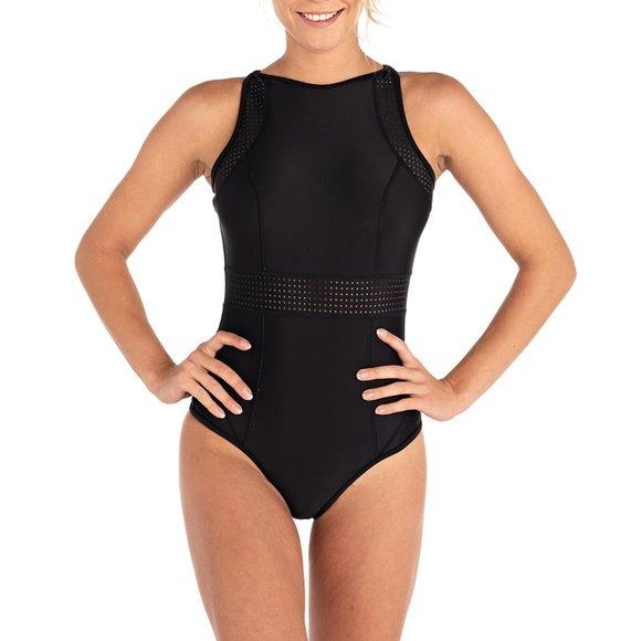 Rip Curl Womens Mirage Impact Reversible Bikinione Piece Bikini Swimsuit